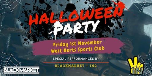 BlackMarket & iN2 Presents - Halloween Party