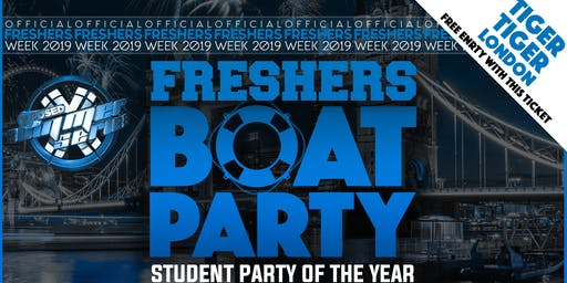 Freshers London Boat Party with FREE After Party!