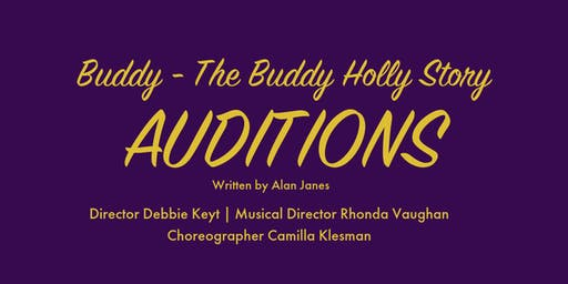 Buddy Audition - BOOKED