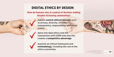 Digital Ethics Workshop - September: Practical steps for organisations tickets