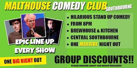 The Malthouse Comedy Club tickets