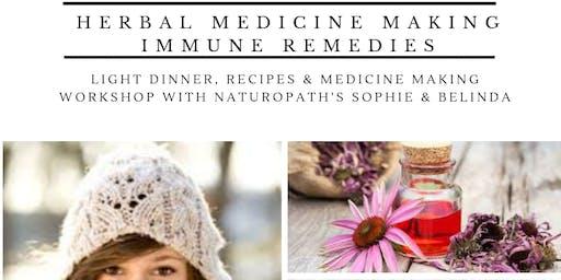 Herbal Medicine Making - Immune medicines