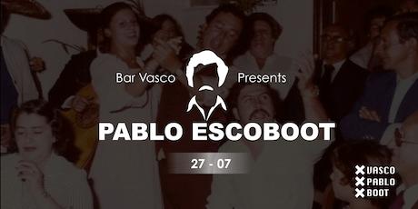 Bar Vasco: Pablo Vascoboot tickets
