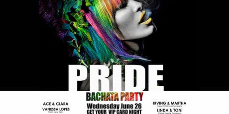 PRIDE BACHATA PARTY Event Ticket Only tickets