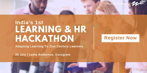 India's 1st Learning and HR Hackathon