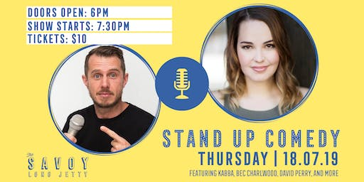 Stand Up Comedy Night - LIVE!