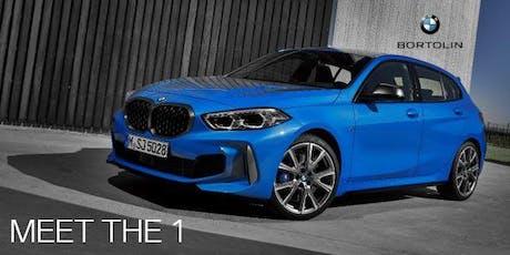 Découvrez la nouvelle BMW Série 1 avec Bortolin billets