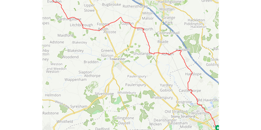 Cycle against Torture 2019 STAGE 6 Milton Keynes - Daventry