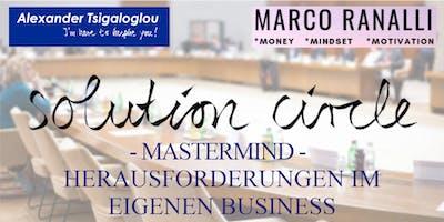 Solution circle - Herausforderungen im eigenen Business
