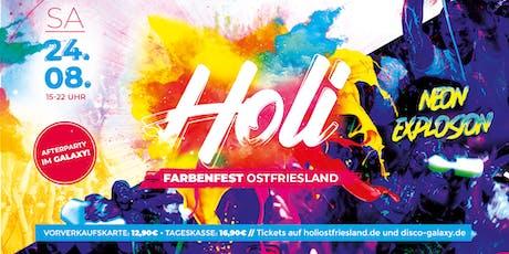 Holi Farbenfest Ostfriesland 2k19 tickets