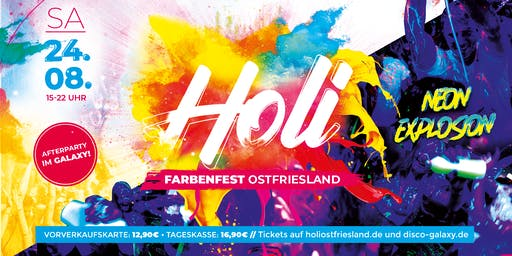 Holi Farbenfest Ostfriesland 2k19