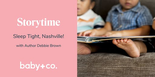 Storytime and Book Signing: Sleep Tight, Nashville! with Author Debbie Brown