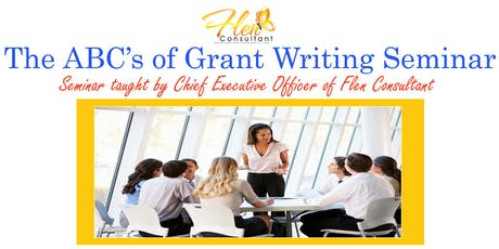 The ABC's of Grant Writing tickets