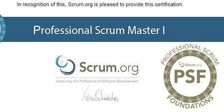 Curso Oficial PSF Scrum.org para Certificación Professional Scrum Master I entradas