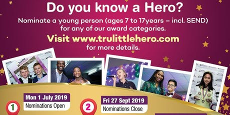 Trulittle Hero Awards 2019 tickets