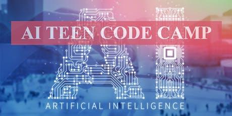AI Teen Code Camp tickets