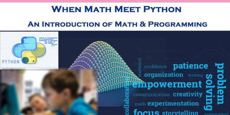 Kids Programming Series: When Math Meet Python tickets