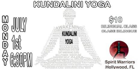 Kundalini Yoga Bilingual Class tickets