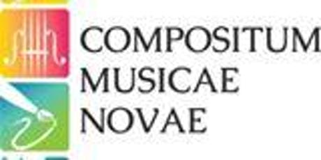 Compositum Musicae Novae Presents New Compositions! tickets