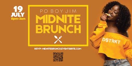 Midnite Brunch at Po Boy Jim (9th St Location) tickets