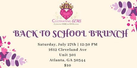 Back To School Brunch  tickets