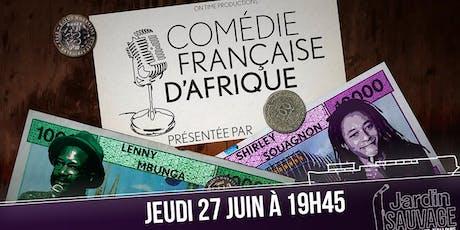 Comédie Française d'Afrique billets