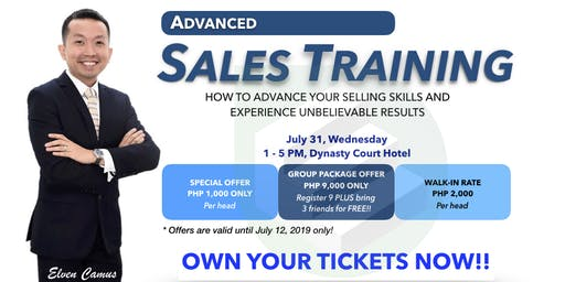 Advanced Sales Training - CDO Batch 32