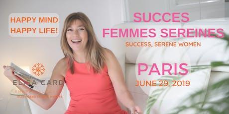 ATELIER-COACHING: «SUCCES, FEMMES SEREINES» 2019 billets