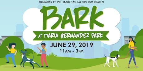 Bark at Maria Hernandez Park tickets