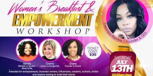 Women's Breakfast & Empowerment Workshop