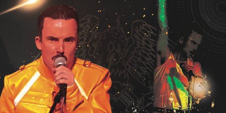 Mr Mercury Tribute - Dinner and Show tickets