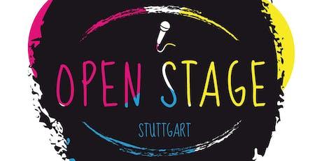 Open Stage Stuttgart - Das Newcomer-Event im Raum Stuttgart! Tickets
