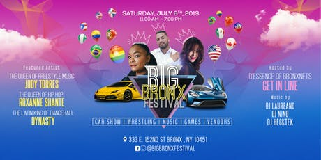 Big Bronx Festival 2019 tickets