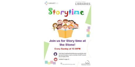 Storytime @ Leytonstone Library tickets
