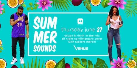 Summer Sounds Hip Hop Party @ Venue tickets
