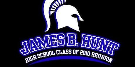 James B. Hunt High School Reunion Class of 2010 tickets