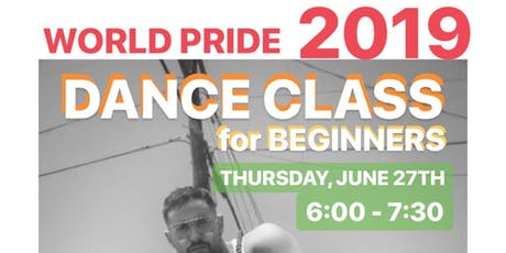 WORLD PRIDE DANCE CLASS for BEGINNERS tickets