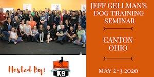 Canton, Ohio - Jeff Gellman's Two Day Dog Training...