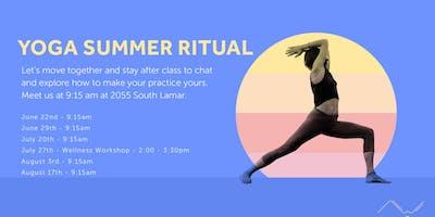 Community Yoga & Wellness Class | Summer Ritual