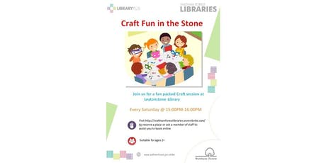 Crafts Session @ Leytonstone Library tickets