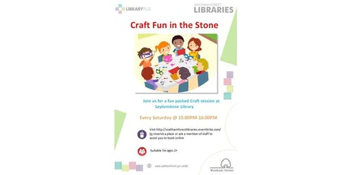 Crafts Session @ Leytonstone Library