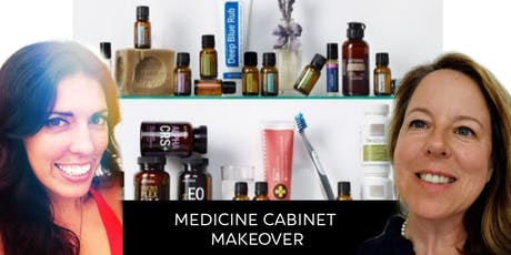 Medicine Cabinet Makeover - Essential Oil Remedies tickets