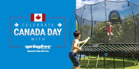 Jump into Canada Day with Springfree Trampoline tickets