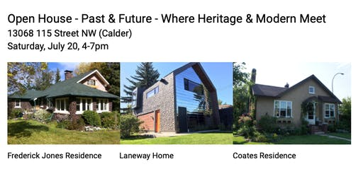 Open House Block Party - Where Heritage Houses & A Modern Garden Suite Meet