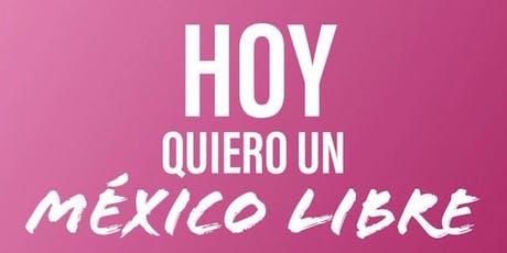 Conoce Mexico Libre, Asiste a nuestra Reunión ZONA PONIENTE (Distrito 6) boletos