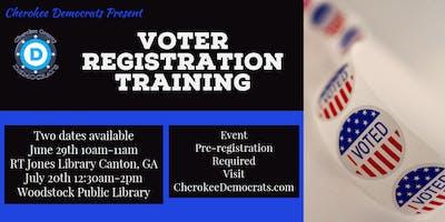 Voter Registration Training