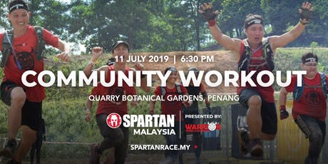 PG Free Spartan Community Workout - 11th July 2019 ( Thursday ) tickets