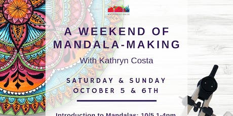 A weekend of Mandala Making with Kathryn Costa tickets