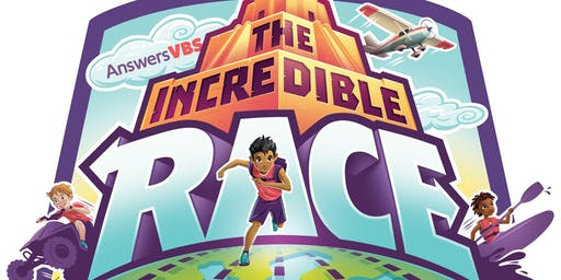 2019 VBS - The Incredible Race