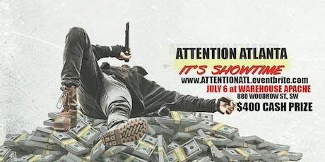 Attention Atlanta (#ItsSHOWtimeATL) tickets